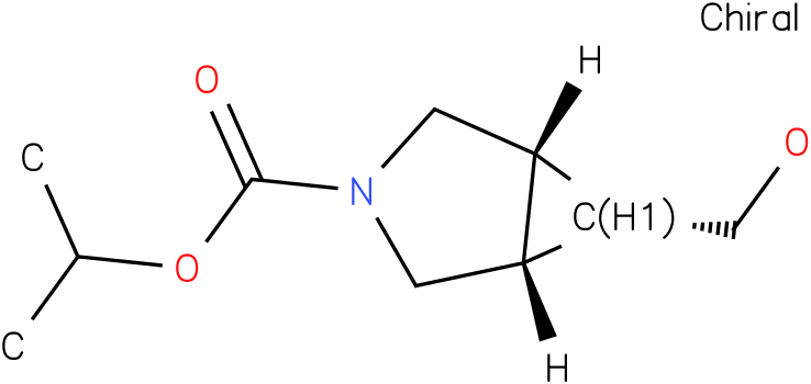 (1R,5S,6s)-tert-butyl6-(hydroxymethyl)-3-azabicyclo[3.1.0]hexane-3-carboxylate