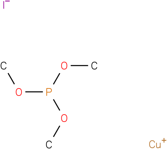 Copper(I) iodite trimethylphosphite complex