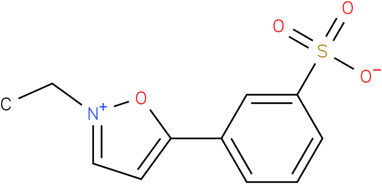 2-Ethyl-5-phenylisoxazolium-3'-sulfonate
