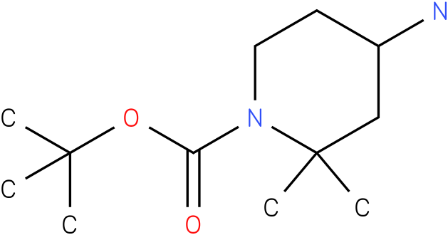 TERT-BUTYL 4-AMINO-2,2-DIMETHYLPIPERIDINE-1-CARBOXYLATE