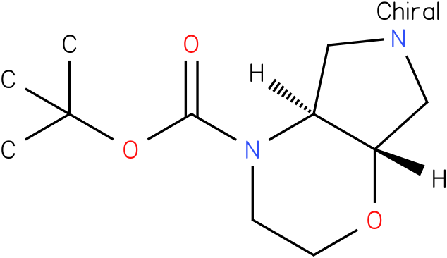 (4AS,7AS)-TERT-BUTYL HEXAHYDROPYRROLO[3,4-B][1,4]OXAZINE-4(4AH)-CARBOXYLATE