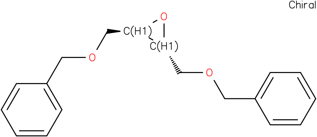 (2R,3R)-2,3-bis(benzyloxy)methyl)oxirane