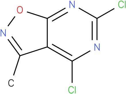 4,6-Dichloro-3-methylisoxazolo[5,4-d]pyrimidine