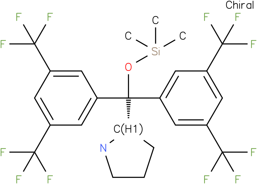 (S)-ALPHA,ALPHA-BIS(3,5-BIS(TRIFLUOROMETHYL)PHENYL)-2-PYRROLIDINEMETHANOL TRIMETHYLSILYL ETHER