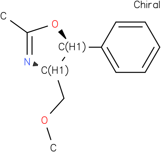 (4S,5S)-(-)-4,5-Dihydro-4-methoxymethyl-2-methyl-5-phenyloxazole