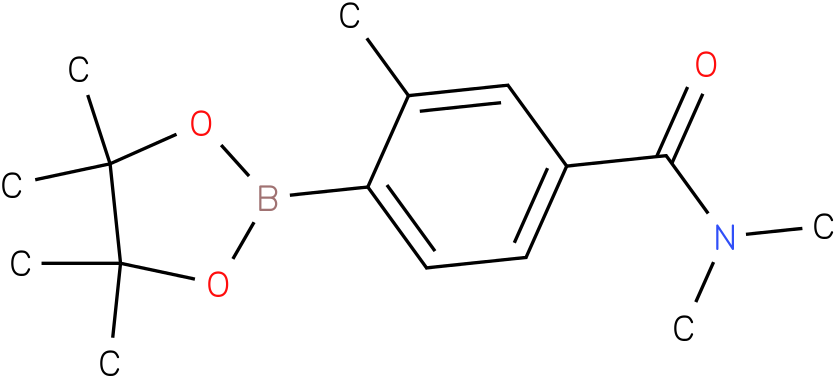 N,N,3-TRIMETHYL-4-(4,4,5,5-TETRAMETHYL-1,3,2-DIOXABOROLAN-2-YL)BENZAMIDE