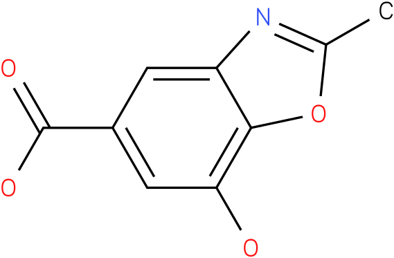 7-hydroxy-2-methyl-1,3-benzoxazole-5-carboxylic acid