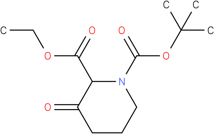 Ethyl N-Boc-3-oxopiperidine-2-carboxylate