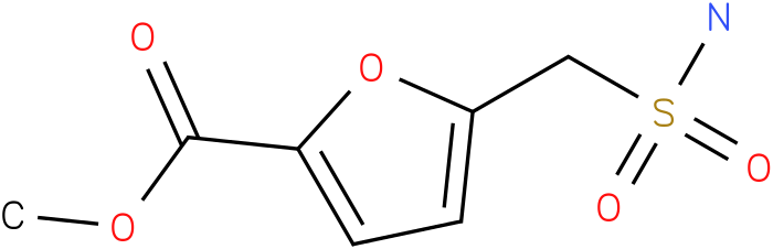 METHYL 5-(SULFAMOYLMETHYL)FURAN-2-CARBOXYLATE
