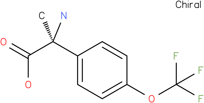 (2S)-2-amino-2-[4-(trifluoromethoxy)phenyl]propanoic acid