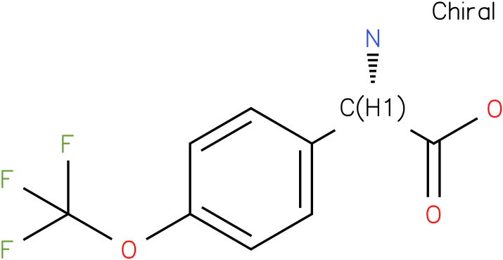 (2S)-2-amino-2-[4-(trifluoromethoxy)phenyl]acetic acid