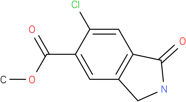 6-CHLORO-1-OXO-2,3-DIHYDRO-1H-ISOINDOLE-5-CARBOXYLIC ACID METHYL ESTER