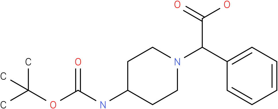 (4-N-Boc-Amino-piperidin-1-yl)-phenyl-acetic acid