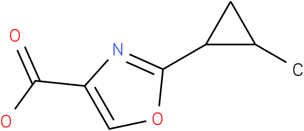 2-(2-METHYLCYCLOPROPYL)-1,3-OXAZOLE-4-CARBOXYLIC ACID