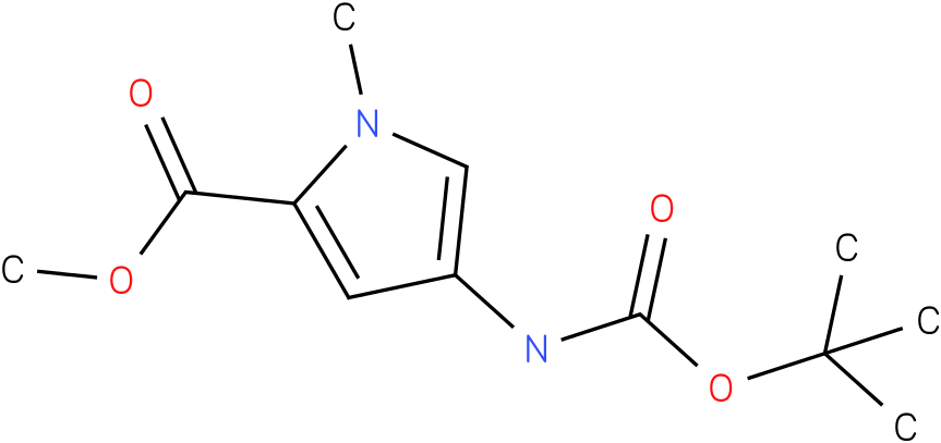 1H-Pyrrole-2-carboxylic acid, 4-[[(1,1-diMethylethoxy)carbonyl]aMino]-1-Methyl-, Methyl ester