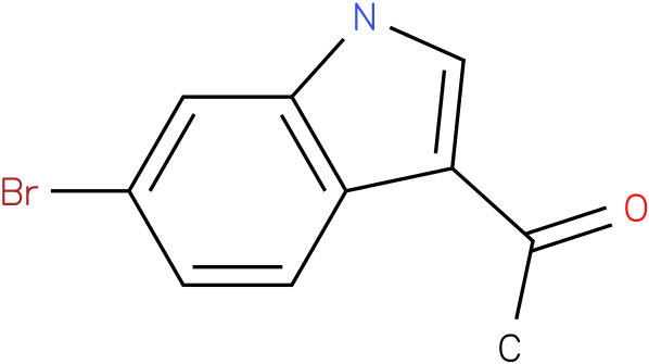 1-(6-bromo-1H-indol-3-yl)ethanone