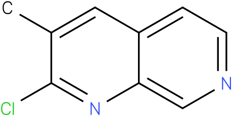 2-CHLORO-3-METHYL-1,7-NAPHTHYRIDINE