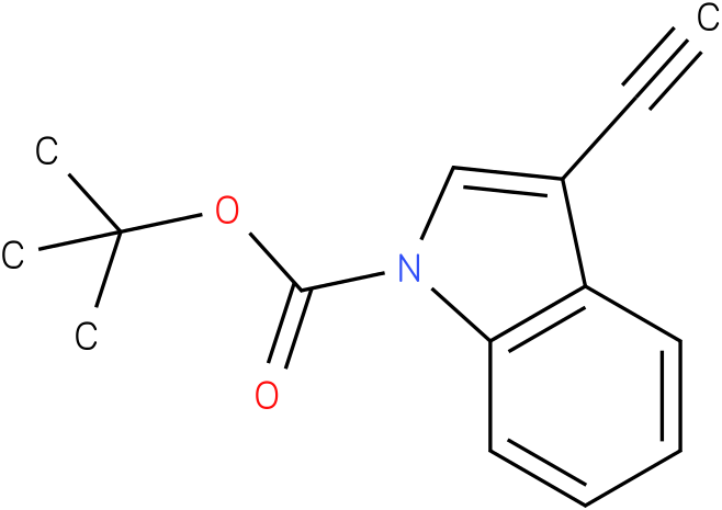 tert-butyl 3-ethynyl-1H-indole-1-carboxylate
