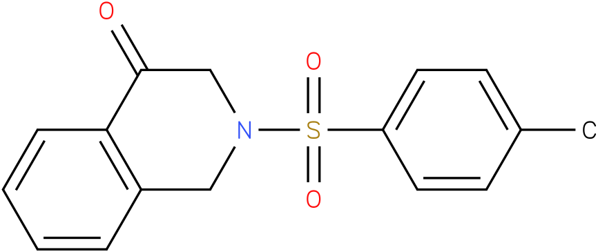 2-tosyl-2,3-dihydroisoquinolin-4(1H)-one