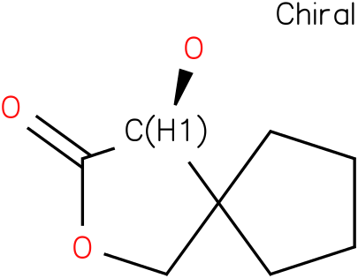 2-Oxaspiro[4.4]Nonan-3-one, 4-Hydroxy-,(4s)-