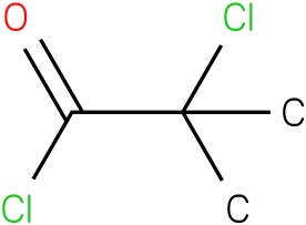 2-chloro-2-methylpropanoyl chloride