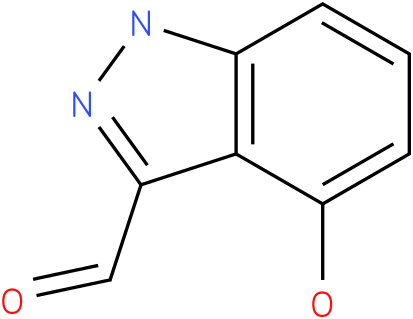 4-HYDROXY-1H-INDAZOLE-3-CARBOXALDEHYDE