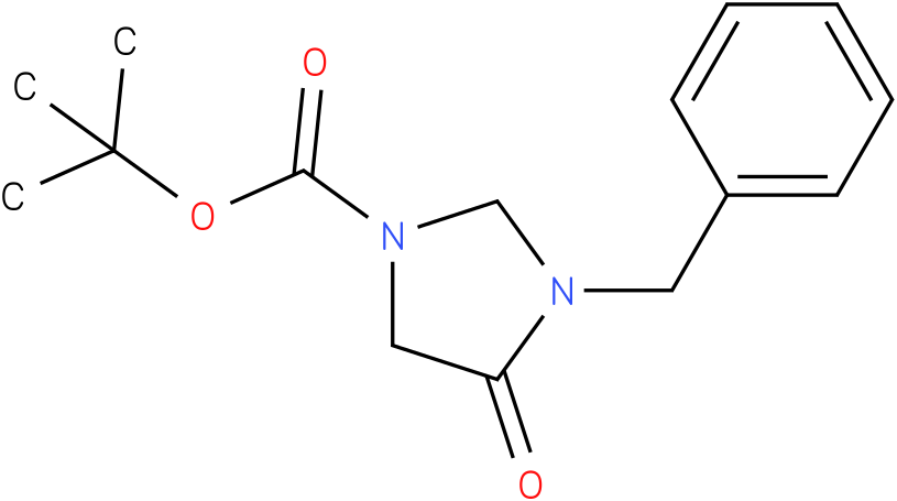 tert-butyl 3-benzyl-4-oxoimidazolidine-1-carboxylate