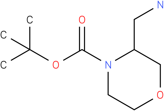 3-Aminomethyl-morpholine-4-carboxylic acid tert-butyl ester
