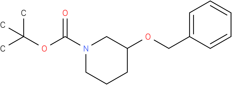 tert-butyl 3-(benzyloxy)piperidine-1-carboxylate