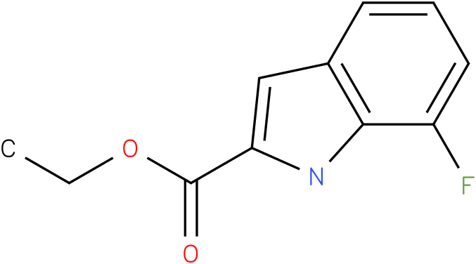 Ethyl 7-fluoro-1H-indole-2-carboxylate