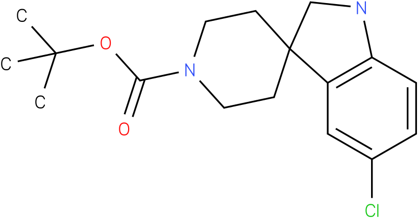 tert-butyl 5-chlorospiro[indoline-3,4'-piperidine]-1'-carboxylate