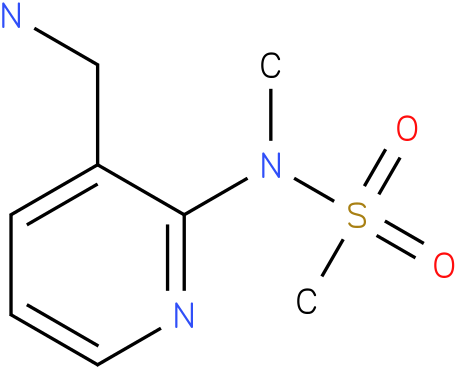 N-(3-(aminomethyl)pyridin-2-yl)-N-methylmethanesulfonamide