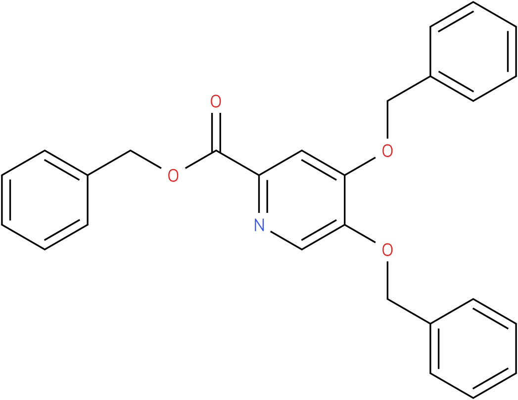 benzyl 4,5-bis(benzyloxy)picolinate