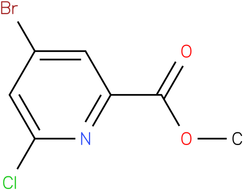 methyl 4-bromo-6-chloropicolinate