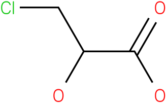 3-chloro-2-hydroxy-propionic acid