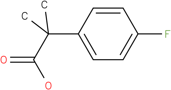 2-(4-Fluorophenyl)-2-methylpropanoic acid