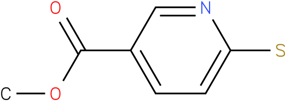 METHYL 6-MERCAPTOPYRIDINE-3-CARBOXYLATE