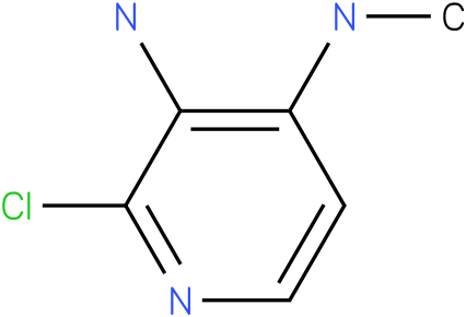 2-CHLORO-N4-METHYLPYRIDINE-3,4-DIAMINE