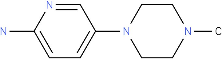 1-METHYL-4-(6-AMINOPYRIDIN-3-YL)PIPERAZINE