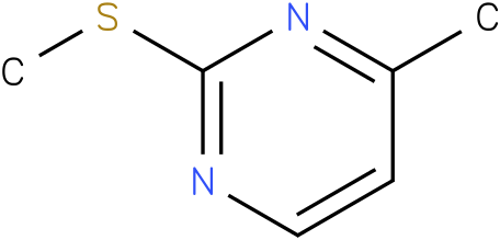4-METHYL-2-(METHYLSULFANYL)PYRIMIDINE