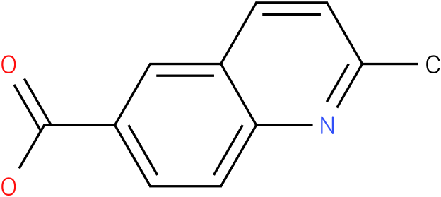 2-Methyl-6-quinolinecarboxylic acid