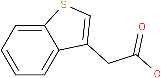 Benzo[B]thiophene-3-acetic acid