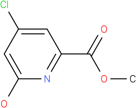 METHYL 4-CHLORO-6-HYDROXYPICOLINATE