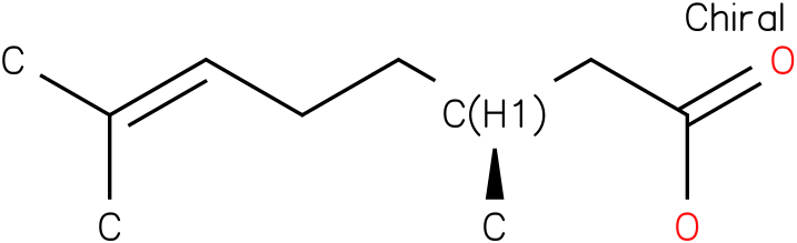 (S)-(-)-3,7-Dimethyl-6-octenoicacid