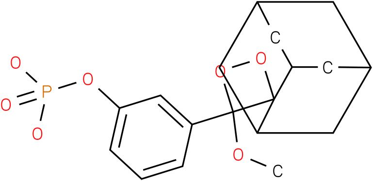 3-(2'-Spiroadamantane)-4-methoxy-4-(3''-phosphoryloxy)phenyl-1,2-dioxetane