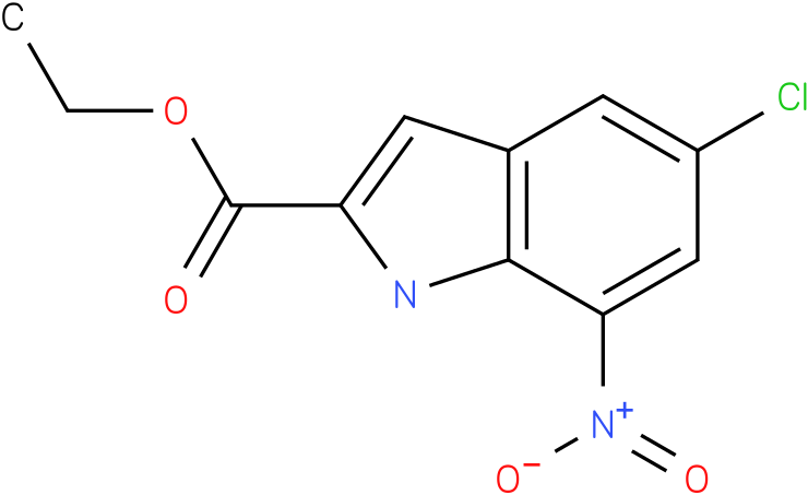 ethyl 5-chloro-7-nitro-1H-indole-2-carboxylate