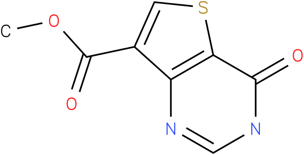 Thieno[3,2-d]pyrimidine-7-carboxylic acid, 3,4-dihydro-4-oxo-, methyl ester