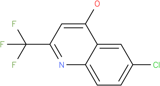 6-CHLORO-4-HYDROXY-2-(TRIFLUOROMETHYL)QUINOLINE