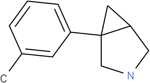 1-(3-METHYLPHENYL)-3-AZABICYCLO[3.1.0]HEXANE