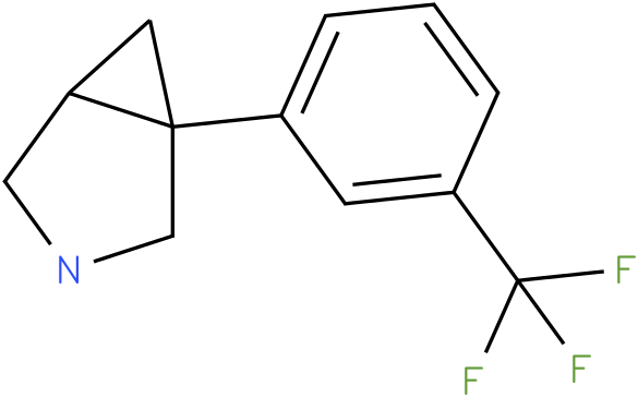 1-[3-(TRIFLUOROMETHYL)PHENYL]-3-AZABICYCLO[3.1.0]HEXANE